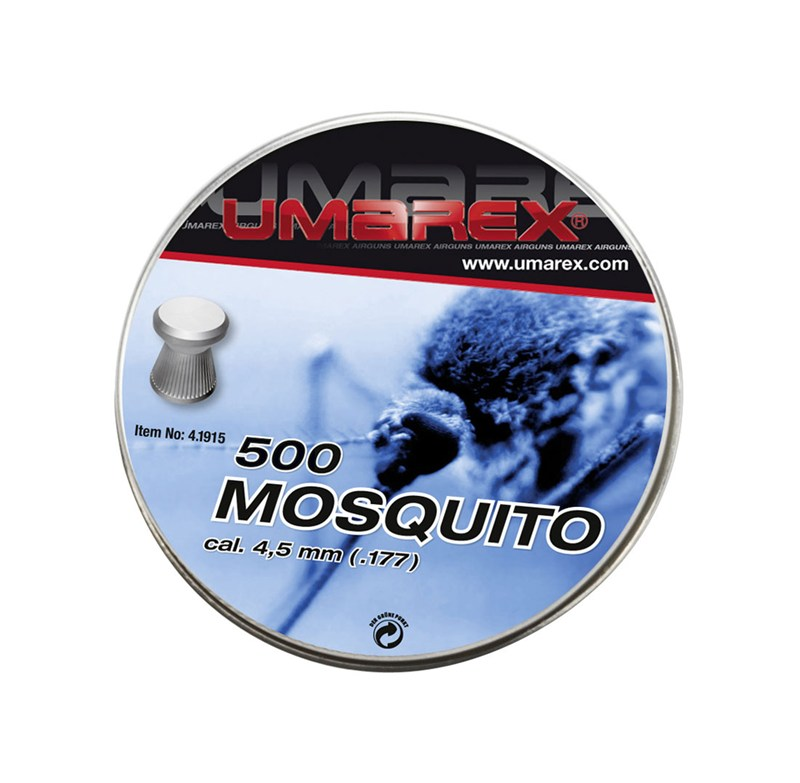 umarex mosquito pellets ribbed 4 5 mm pellets